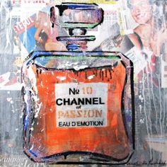chanel pop art by Ludmilla Radchenko