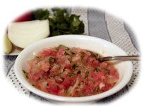 Recetas Chilenas - Pebre Chilean Food, Chilean Recipes, Fun Food, Good Food, Latin American Food, American Recipes, Spanish Language, Learn To Cook, Side Dishes