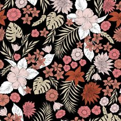 Nomade by IMAGINE STUDIO Seamless Repeat  Royalty-Free Stock Pattern