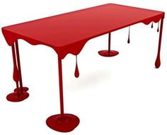 Dripping table