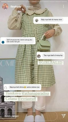 Casual Hijab Outfit, Ootd Hijab, Online Shop Baju, Korea Dress, Best Online Clothing Stores, Hijab Fashion, Fashion Outfits, Instagram Outfits, Korean Outfits