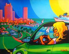 Erwin Dazelle Visit www.dazelleusa.com Fair Grounds, Fun, Painting, Travel, Canvases, Viajes, Painting Art, Paintings, Destinations