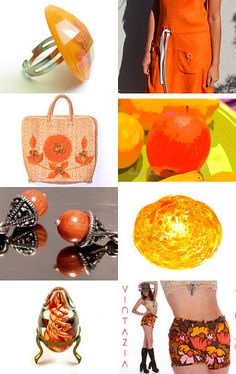 Outrageously Orange! #voguet #vett