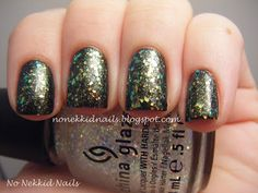 No Nekkid Nails: China Glaze Wicked Collection Make a Spectacle over Cast a Spell
