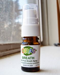 OraMD Breath Review and #Giveaway - Bad breath is no fun.  Click through to learn how OraMD Breath can help and enter to #win a bottle for yourself!