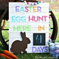 Easter Egg Hunt Countdown | The Wood Connection Blog
