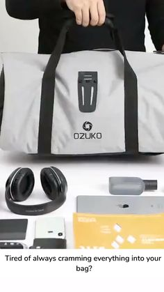 Multifunctional Luxury Travel Bag Did you know, you can pack everything you could ever need into one bag? This Multifunctional Luxury Travel Bag can hold everything, including all your electronic devices,.