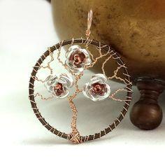 Flowering Tree of Life Pendant