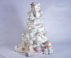Christmas Tree Lenox China Holiday Porcelain by DoorCountyVintage