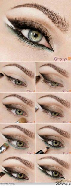 58 Trendy Makeup Tutorial Eyeliner Make Up Makeup Trends, Eye Makeup Tips, Makeup Inspo, Makeup Inspiration, Hair Makeup, Makeup Ideas, Makeup Style, Makeup Geek, Makeup Tutorials
