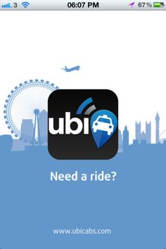 ubiCabs - The Minicab & Taxi London App