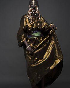"FECC   Means ""dance"" in Wolof... Senegalese women really love music and dancing.  Mbalax is my favorite!    Campaign: NYENYO    Model/Muse: Khoudia Diop, @melaniin.goddess    Photographer: Joey Rosado, @islandboiphotography    MakeUp Artist: Moshoodat Sanni, @moshoodat    Creative Direction/Agency: The Colored Girl, @thecgirlinc    Written by: Victory Jones, @srvj    PR: Tori Elizabeth, @stylebytori    #melanin #goddess  #slay  #blackgirlmagic #beauty  #africa #queen #love"