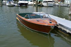 Boat Discover 1956 Chris Craft Classic 18 Continental 1956 Power Boat For Sale - Wooden Speed Boats, Wood Boats, Chris Craft Boats, Power Boats For Sale, Runabout Boat, Boat Interior, Interior Design, Classic Wooden Boats, Ski Boats