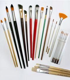 Lista de materiales para pintar al oleo