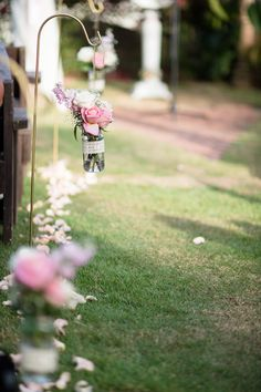 Simple DIY wedding decoration | Inspiring post by Bridestory.com, everyone should read about One Couple's Dreamy Wedding at a Puerto Rican Hacienda on http://www.bridestory.com/blog/one-couples-dreamy-wedding-at-a-puerto-rican-hacienda