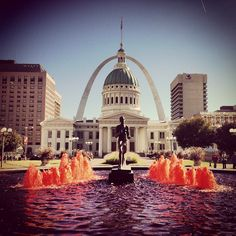 St. Louis, MO is a cosmopolitan metropolis bursting with culture, amazing architecture and the best sports (and fans) on the planet!