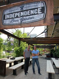 What to eat and drink at Independence Beer Garden