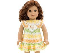 Doll Clothes Pattern Doll Summer Dress Pattern fits von LelleModa