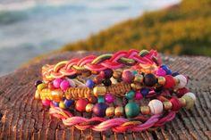 Our masala sunset bracelet.....