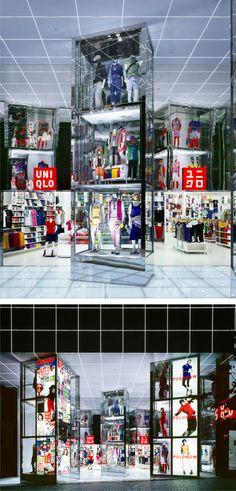 Uniqlo Megastore by Curiosity, Tokyo