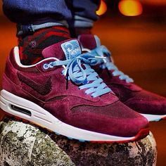 Nike Air Max 1 Suede Red