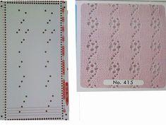 (54) Одноклассники Knitting Machine Patterns, Knitting Charts, Sweater Knitting Patterns, Knitting Stitches, Card Patterns, Stitch Patterns, Wire Crafts, Diy And Crafts, Shibori
