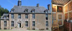 Château de Goué à Fougerolles-du-Plessis, La Mayenne, Pays de la Loire