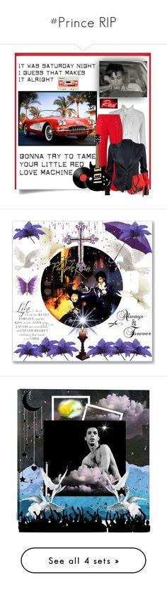 """#Prince RIP"" by detroitgurlxx ❤ liked on Polyvore featuring Seletti, Rosie Assoulin, Balenciaga, art, prince and purplerain"