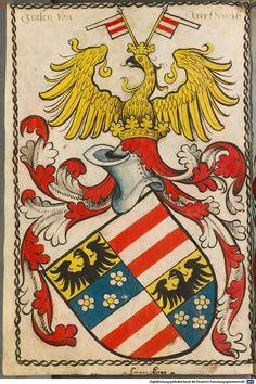 Scheibler'sches Wappenbuch Süddeutschland, um 1450 - 17. Jh. Cod.icon. 312 c  Folio 2