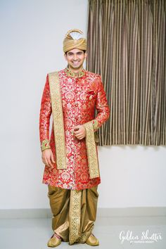 The 10 Years Journey - From Two Teenagers To A Lovely Couple- Honestly, when bri. - Fashion For Men Wedding Dresses Men Indian, Groom Wedding Dress, Wedding Suits, Saree Wedding, Sherwani Groom, Wedding Sherwani, Groom Outfit, Groom Attire, Groom Suits