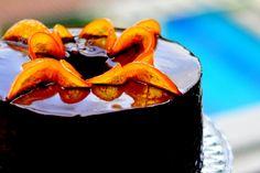 a spoonful of sugah: Dark Chocolate Orange Cointreau Chiffon Cake
