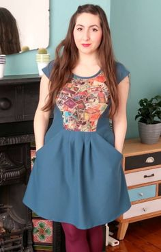 Marie's Zadie dress - sewing pattern by Tilly and the Buttons