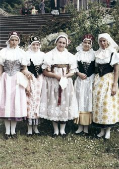 Jizera Folk Costume, Costumes, Bridesmaid Dresses, Wedding Dresses, Czech Republic, Fashion, Bridesmade Dresses, Bride Dresses, Moda