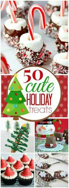 50 cute holiday treats