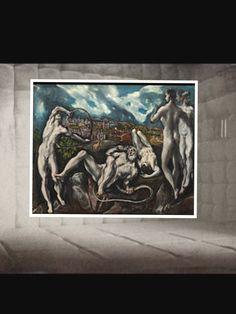 SALA 4. AUTOR: El Greco TÍTULO: « Laocoonte» AÑO: 1609 Técnica: Pintura al aceite Medidas: 84 x 1,13 m