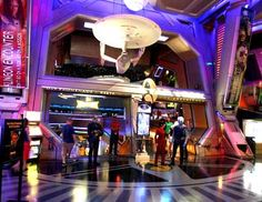 The now defunct Star Trek Experience at the old Las Vegas Hilton (now The LVH)