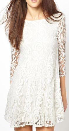 lace dress     dresslily.com