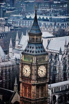 Big Ben, London England :: Photo by Kaitlin Firstbrook