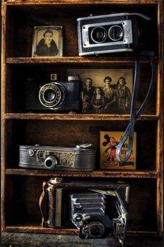 Vintage display corner
