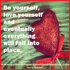 Be yourself, love yourself and eventually everything will fall into place.  #p2pdevelopment