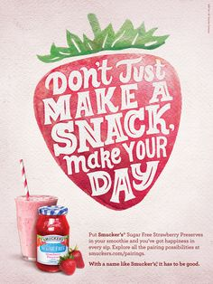 Smucker's Sugar Free Jam Ad by Mary Kate McDevitt
