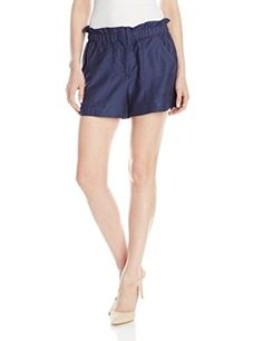 BCBGMAXAZRIA Women's Addison Paper Bag Short from $17.99 by Amazon BESTSELLERS