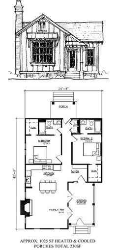 small modern cabin house plan by freegreen energy efficient house plans pinterest small modern cabin and cabin house plans - Small Cottage Plans
