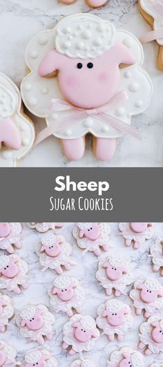 3D Lamb Cookies - One Dozen #affiliate