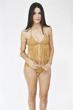 Marjan Bikini- Gold from Indah at Blush Boutique : The latest trends in women's clothing & accessories