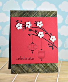 celebrate.  Dahlia Memories: Chinese New Year Blog Hop