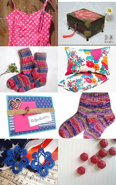 Hot pink  by Nathalie on Etsy--Pinned with TreasuryPin.com