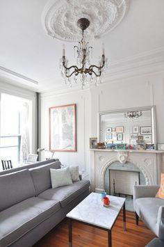 Inspiración Deco: Cómo hacer de un piso clásico un hogar muy actual en Brooklyn!