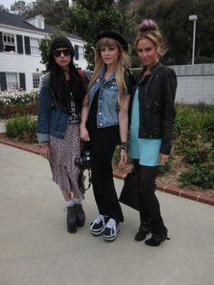 Hanna Beth, Samii Ryan & Keltie Colleen of 'Buzznet' at Lucky FABB