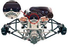 koenigsegg suspension Koenigsegg, Automotive Engineering, Automotive Design, Kit Cars, Kart Cross, Tube Chassis, Reverse Trike, Sand Rail, Go Car